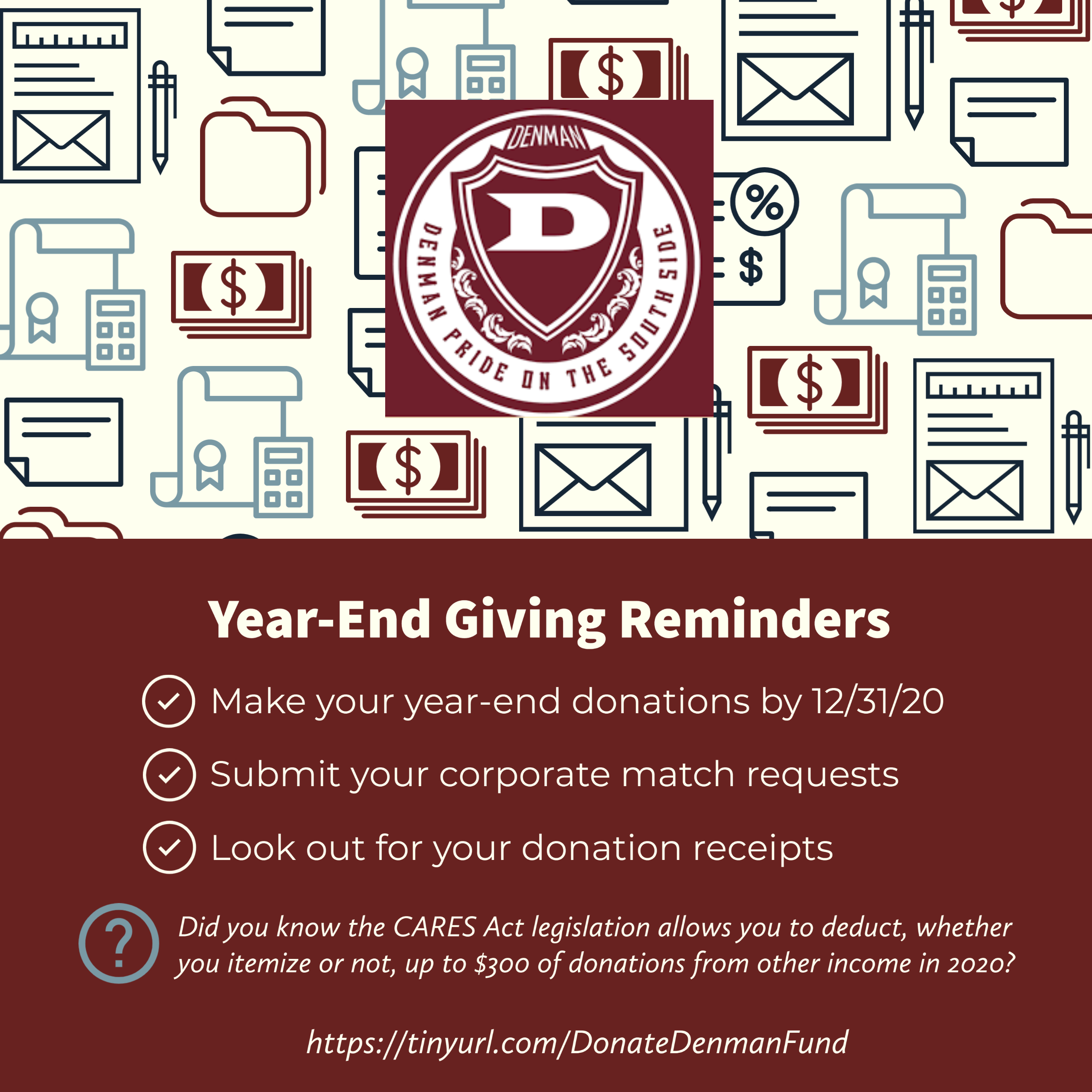 Year-End giving checklist
